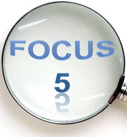 5 customer areas we focus on!