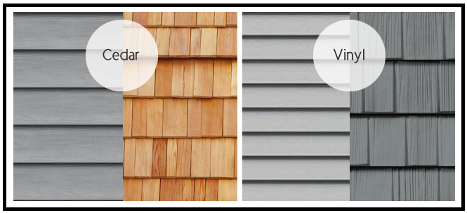 Maintenance of wood siding vs vinyl siding