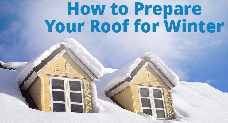 Preparing your home and roof for a winter storm.