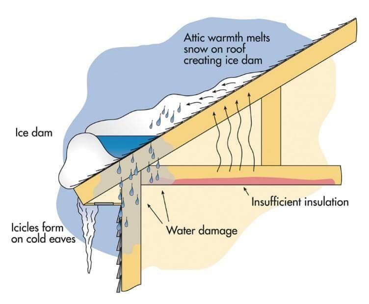 IWS (Ice & Water Shield)