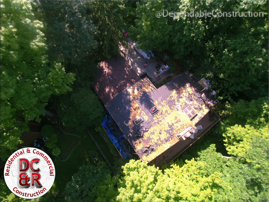 Droning A Roof